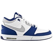 Nike Air Max stepback BLANC-BLEU Baskets Hommes Chaussures de sport Mid loisir