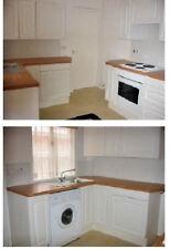 1 Homebase Amalfi White 300 Wall Unit