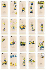 Minions Case/Cover Apple iPhone 5 5s SE + Screen Protector / Soft Silicone Gel