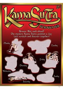 SEXY SCRATCHER - KAMA SUTRA ADULT COUPLES NOVELTY VALENTINES CUPID'S LOVE SHOP