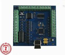 Mach 3 4-Axis tarjeta CNC Usb Controlador de movimiento suave paso a paso para CNC Grabado Nuevo