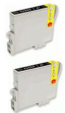 2 BLACK INK FOR EPSON R265 R360 RX285 RX560 RX585 RX685