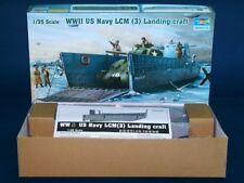 Trumpeter 00347 1/35 WWII U.S. Navy LCM-3 Landing Craft Platic Model Kit