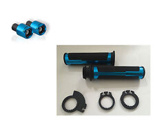 BARRACUDA KIT MANOPOLE RACING BLU 120 mm + CONTRAPPESI per SUZUKI GSX-R 1000 R