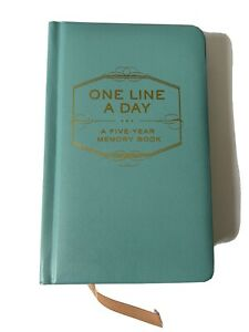 One Line A Day - A Five-Year Memory Book - Never Used, ready to write in