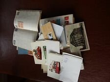 STAMPS AND POSTCARDS A BIG MIX CHEAP PRICE   AS A LOT  100 + postcards