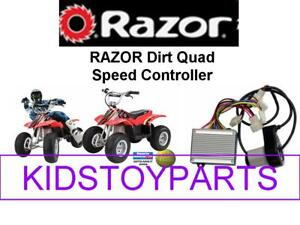 Razor Dirt Quad Throttle and Controller Electrical Kit 24 volt REPLACEMENT PARTS