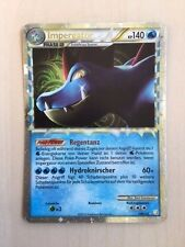 Pokémon impergator (prime) HeartGold edicion 108/123, TCG raramente alemán!
