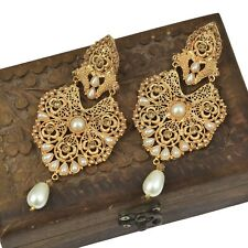 Pakistani Indian Fashion Jewelry Earring for Wedding Party & Gift J-41
