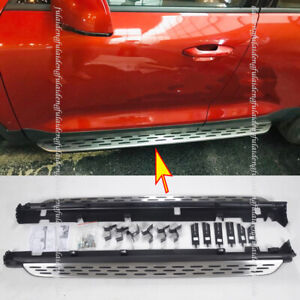 2pcs For Volvo XC40 2018-2021 Side Pedal Board Running board side step Nerf Bars