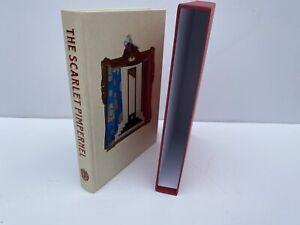 The Scarlet Pimpernel by Baroness Orczy - Folio Society hardback with slipcase