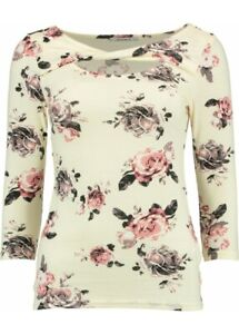 HAILYS  Langarm-Shirt > JOLI <  Long Sleeve mit floralem Muster