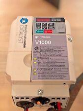 YASKAWA V1000 Control Drive Tranformative Wave Catalyst CIMR-VU4A0004FAA used
