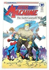 Comico Justice Machine #24 Part 6 of 7 The Earth / Georwell War (1988) Murray