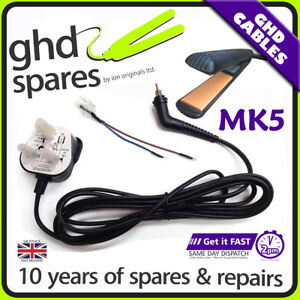 Cable for GHD Series Hair Straightener 5.0 New IV 4.2 x 10 25 50 100 ionco®