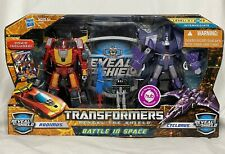 Transformers Reveal the Shield Battle in Space Hot Rod Rodimus Cyclonus figures