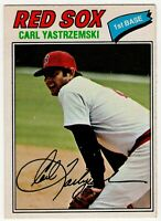 1977 CARL YASTRZEMSKI BOSTON RED SOX OPC O PEE CHEE BASEBALL CARD #37