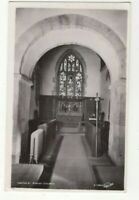 Leathley Parish Church Yorkshire England Vintage RPPC Postcard US157