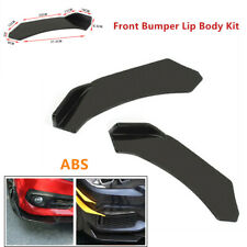Pair Front Bumper Lip Body Chin Trim Refit Kit Car Body Protect For Honda Accord