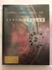 BluRay Steelbook INTERSTELLAR HDzeta Gold Label Fullslip Lenticulaire avec VF
