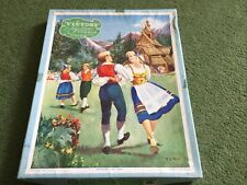 Victory wooden jig-saw Puzzle series No P3/S Norwegian Folk Dance 125 pieces