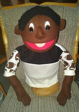 Professional 22 inch tall Boy Puppet-Your choice of skin color