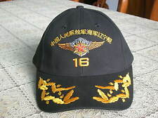 China PLA Navy Liaoning No. Aircraft Carrier CAP,Hat Baseball Style,Black,( A ).