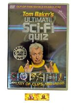 Tom Bakers Ultimate Sci-Fi Quiz Interactive DVDi Game NEW  SEALED