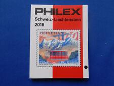 Briefmarken-Katalog  Philex  für Schweiz- Liechtenstein  Marken 2018  farbig