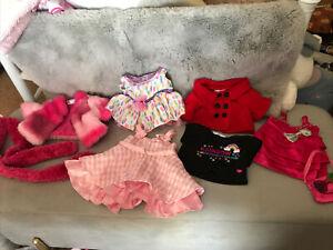Build-a-bear Clothes Bundle & Accesories