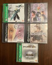 Final Fantasy Lot Bundle Ps1 Vii Viii Vagrant Parasite 7 8 Tactics Playstation