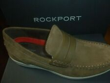 ROCKPORT SHOES PENNY LOAFER LEATHER VICUNA CULLEN CH4215 NEW BOXED