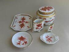alte Porzellan Garnitur auch Raucher Art Deco Porzellan Ullersricht Bavaria