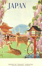 JR03 VINTAGE JAPAN JAPANESE RAILWAYS A3 POSTER PRINT