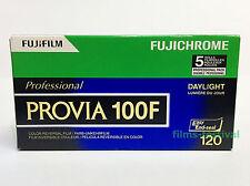 5 rolls FUJICHROME PROVIA 100F 120 Professional Slide Film RDPIII FREE SHIP