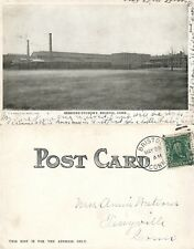 BRISTOL CT SESSIONS FOUNDRY UNDIVIDED ANTIQUE POSTCARD