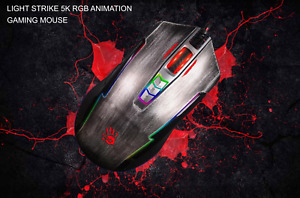A4TECH Bloody P93S Bullet Gaming Mouse  8000 DPI RGB, Brand New