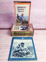 Blowin in the Wind Readers Digest Folk Songs 3 Cassettes Program Notes 1985 VTG
