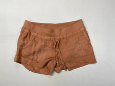 GUESS Linen Hotpants/Shorts - Size UK8 - Pink - Great Condition - Women's