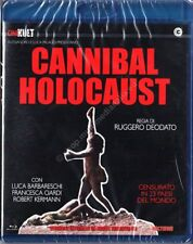 CANNIBAL HOLOCAUST (1980 Ruggero Deodato) versione integrale restaurata BLU RAY