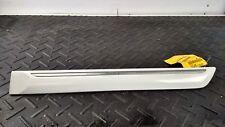 2003 SUZUKI GRAND VITARA Driver Left Rear Lower Door Moulding Cladding White ZA5
