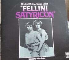 Nino Rota Fellini Satyricon Original Motion Picture Score UAS 29118 Vinyl LP