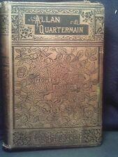 Allen Quartermain, H. Rider Haggard, Hardcover, Peoples Edition ca early 1900s