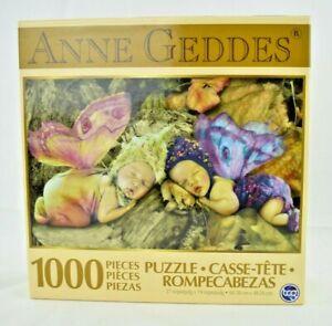 "TCG Toys - Anne Geddes ""Fairies"" - 1000 Piece Jigsaw Puzzle (27x19) Complete"
