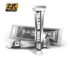 AK-Interactive #457 True Metal - Steel (Metallic Paint, 20ml)