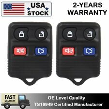 2Pcs Replacement Keyless Entry Remote Key Fob for Ford Focus Escape Explorer New