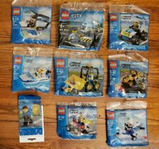 LEGO City Polybag Lot x9 30018 30014 30017 30010 30013 30151 30152 40175 New