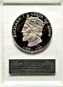 INDALO- Great Britain Britannia Commemorative Society Ltd.1970 Richard I