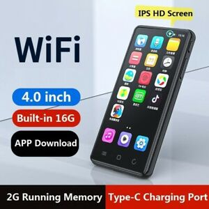 MP4 Player Touch Screen Voice Recorder Photo Viewer 16GB Bluetooth 5.0 Speaker