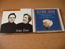 2 Maxi CD Set Elton John - True love ( feat. Kiki Dee) + Candle in the wind 97